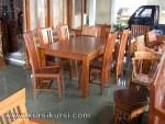 Set Kursi Meja Makan Balero Tengahan Kode (KKS 379 )
