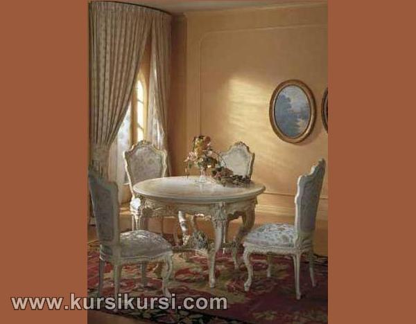 Set Kursi Meja Makan Daff Furniture