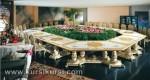 Set Kursi Meja Makan Meeting Duco Putih Kode ( KKS 396 )