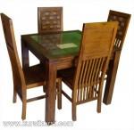 Set Kursi Meja Makan Minimalis Balero Cacah Kode ( KKS 400 )