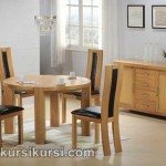 Set Kursi Meja Makan Minimalis Jok Tengah Sandaran 4 Kursi
