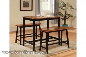 Set Kursi Meja Makan Minimalis Simpel dan Elegan