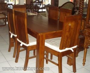 Victorian Furniture Set Kursi Meja Makan Minimalis