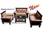 Amira Furniture Set Kursi Tamu Jepara Terbaru Kode ( KKS 579 )