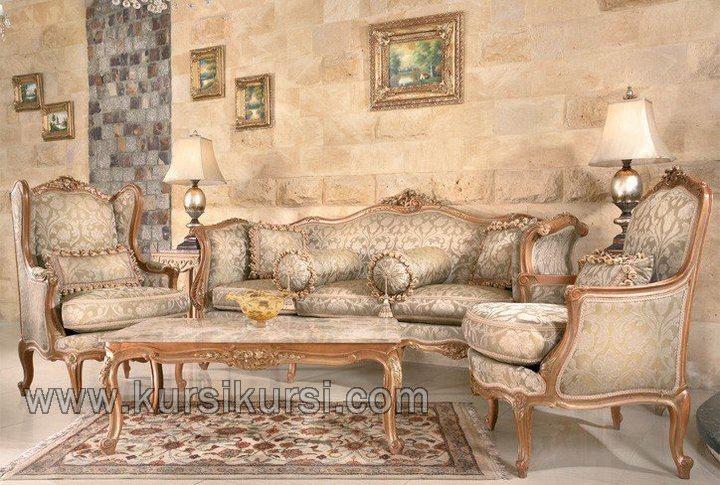 Desain Set Kursi Tamu Sofa