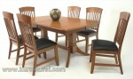 Dinning Table Furniture Kursi set Jepara Kode ( KKS 864 )