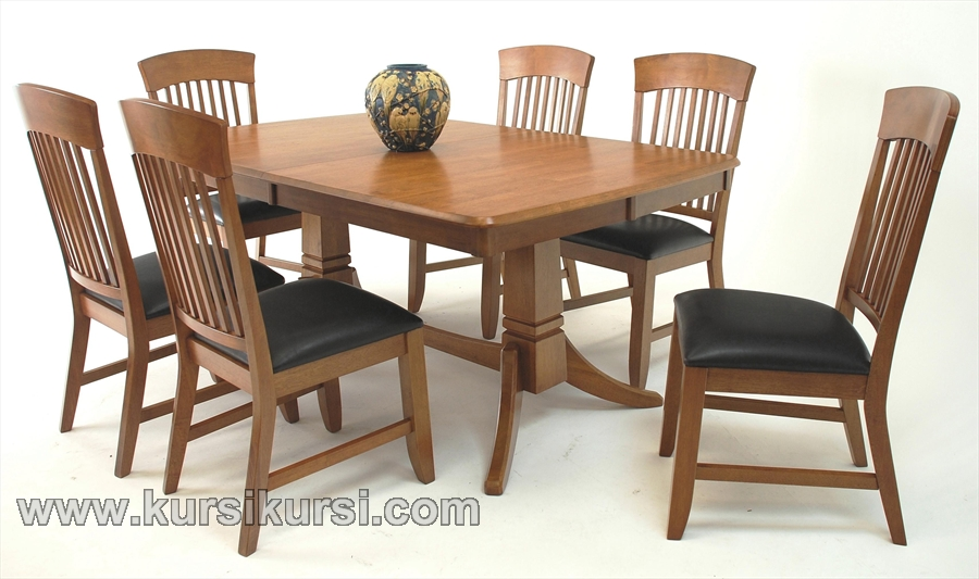 Dinning Table Furniture Kursi set Jepara