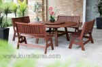 Elegant Furniture Kayu Set Kursi Tamu Jati Kode ( KKS 526 )