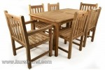 Furnitrue Garden Jepara dengan Pilihan Kayu Jati Solid 6 Kursi Kode ( KKS 865 )