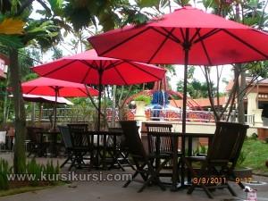 Furniture Jati Jepara Model Kursi Lempit Set Untuk Halaman Rumah