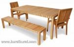 Garden Furniture Jepara Lara Kayu Jati Jepara Modern Kode ( KKS 874 )