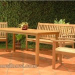Garden Furniture Set Kursi Taman Jepara