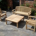 Garden Furniture Set Kursi Taman Kayu Jati