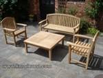 Garden Furniture Set Kursi Taman Kayu Jati Kode ( KKS 880 )