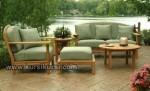Garden Furniture Set Kursi Tamu Taman Kayu Jati Kode ( KKS 881 )