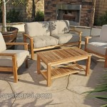 Garden Furniture Sofa Set Kursi Taman Jepara