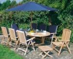 Garden Teak Jepara Furniture Set Kursi Taman Busa Kode ( KKS 883 )