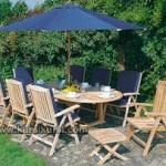 Garden Teak Jepara Furniture Set Kursi Taman Busa