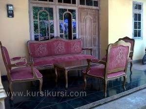 Jepara Mebel Furniture Set Kursi Tamu Sofa