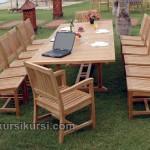 Kursi Taman Meeting Jepara Untuk 14 Kursi Jati
