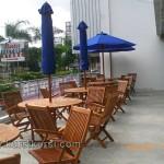 Kursi Taman Set Untuk Cafe Kayu Jati Jepara