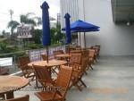 Kursi Taman Set Untuk Cafe Kayu Jati Jepara Kode ( KKS 889 )