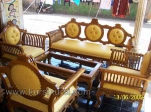 Kursi Tamu Set Jepara Model Jambu