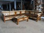 Kursi Tamu Sudut Ukir Finishing Marmer Kode ( KKS 563 )