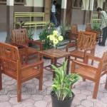 Kursi Tamu Untuk Sekolahan Kayu Jati