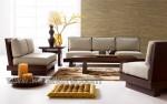 Living Room Minimalis Block Kayu Jati Solid Kode ( KKS 569 )