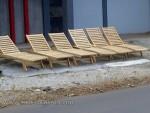 Lonjer Kayu Jati Untuk Pantai dan Kolam Renang Kode ( KKS 890 )