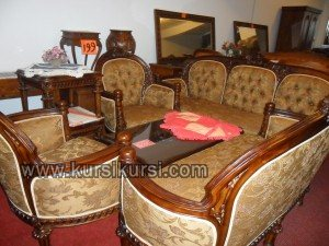 Luxury Sofa Set Kursi Tamu Jepara