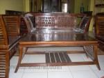 Mebel Bandung Set Kursi Tamu Minimalis Dowel Jati Kode ( KKS 586 )