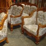Mebel Jepara Ukir Set Sofa Romawi Inggris Kayu Jati