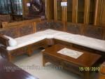 Mebel Minimalis Jati Set Kursi Tamu Jati Sudut Kode ( KKS 594 )