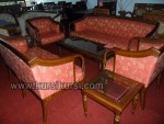Melamin Furniture Set Kursi Tamu Sofa Seraton Jati Kode ( KKS 605 )