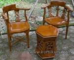 Memilih Set Kursi Teras dari Kayu Jati Jepara Kode ( KKS 925 )