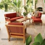 Model Furniture Kursi Set Taman Sofa Jepara Kode ( KKS 893 )