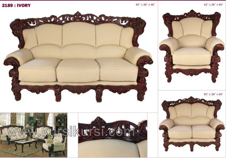 Model Pilihan Set Kursi Tamu Sofa Jepara