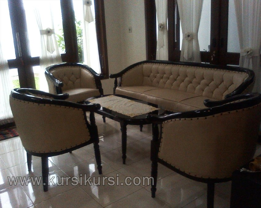Model Sofa Set Kursi Tamu Jati