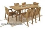 Modern Furniture Garden Jati Jepara Set Kursi Taman Kode ( KKS 894 )