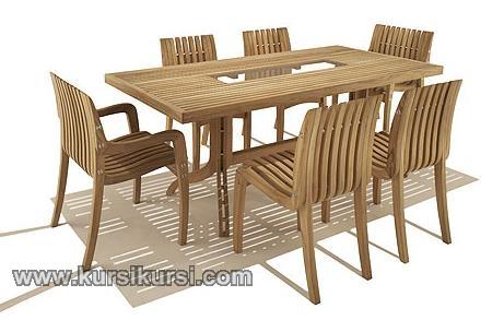 Modern Furniture Garden Jati Jepara Set Kursi Taman