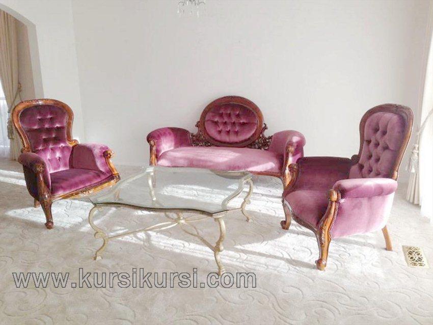 Modern Furniture Sofa Set Kursi Tamu Jepara