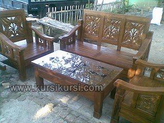 Natural Furniture Set Kursi Tamu Jepara