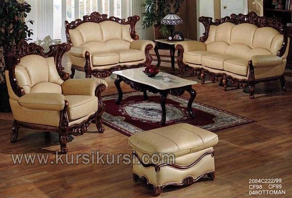 New Produk Set Sofa Kursi Tamu Meja Top Marmer