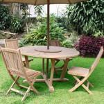 Outdoor Furniture Set Kursi Taman Kayu Jati Jepara