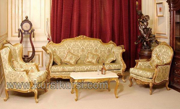 Produsen Furniture Set Sofa Tamu Jepara