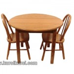 Round Table Minimalis Kayu Jati Jepara