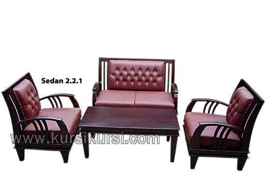 Sedan Furniture Set Kursi Tamu Minimalis Busa
