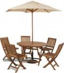 Set Kursi Meja Payung Taman 5 Kursi Kode ( KKS 902 )